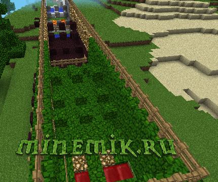 Карта с легким, но красивым паркуром для Minecraft PE