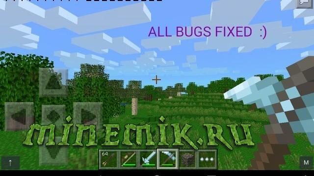 Реалистичные текстуры для Minecraft PE