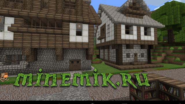 Красивый HD текстурпак для Minecraft PE