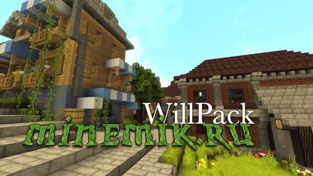 Деревенский текстурпак для Minecraft PE