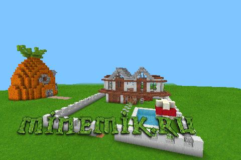 Домик для Minecraft PE