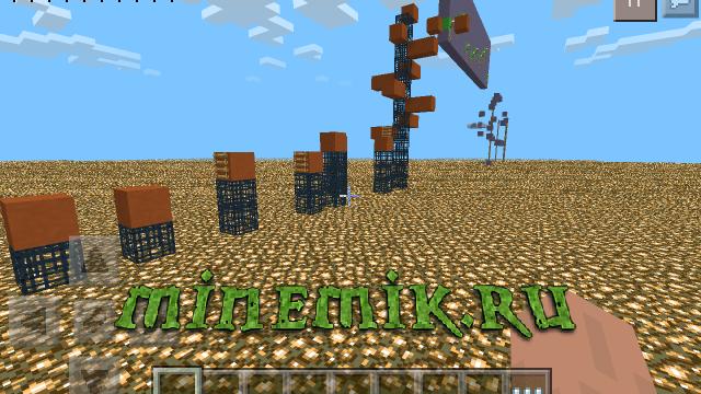 Прикольная карта с паркуром, сплифом и другими крутыми играми для Minecraft PE