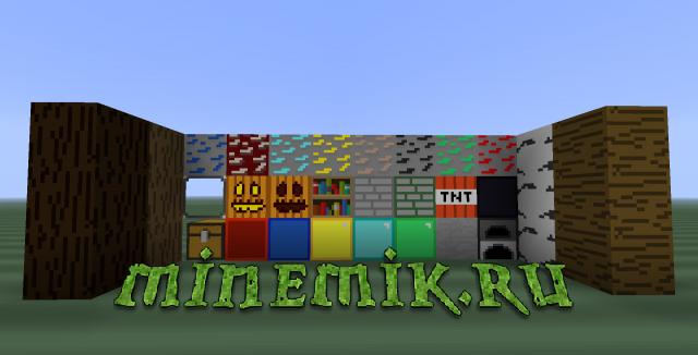 Необычные мультяшные текстуры для Minecraft PE!