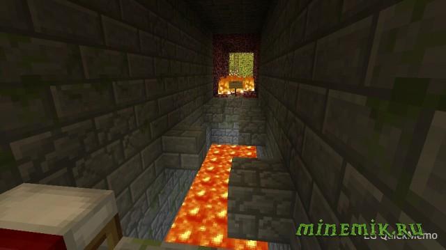 Веселый паркур для Minecraft PE