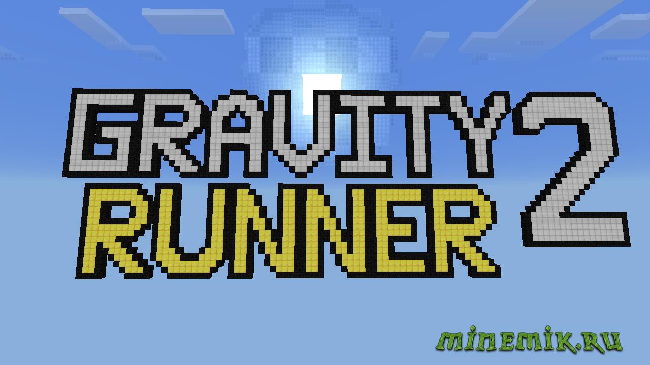 "Карта ""GRAVITY RUNNER 2"" для Minecraft PE"