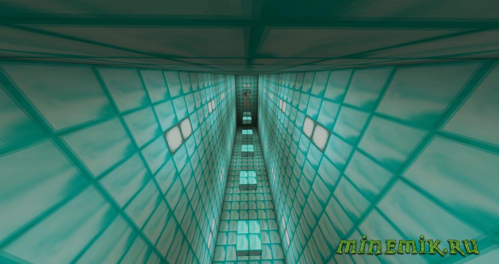 Пак карт на паркур для Minecraft PC