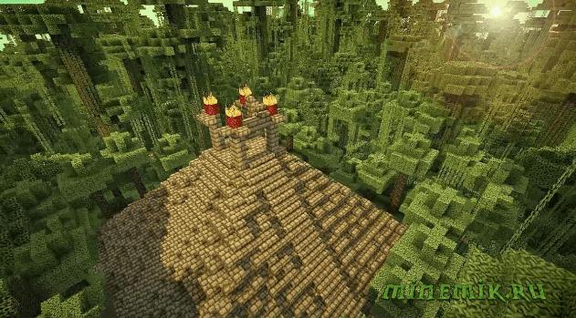 Карта The Lost Temple Map для Minecraft PE