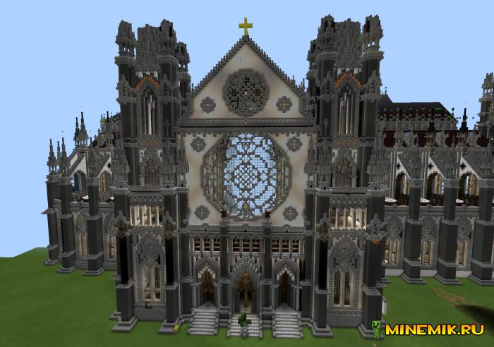 Карта Big Cathedral - готический собор для MCP
