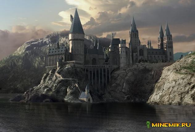 Карта Hogwarts для MCPE