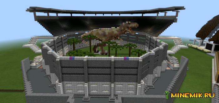 Карта Jurassic World - мир Юрского периода у тебя в кармане!