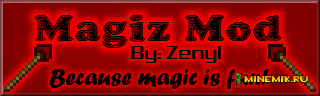Мод Magiz mod для майнкрафт pc