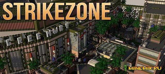 Strikezone — карта для minecraft 1.7.10