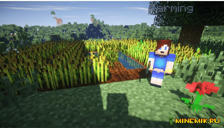 Мод Minecraft Comes Alive для майнкрафт pc