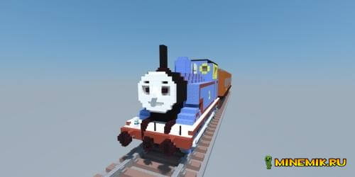 Карта Thomas train для майнкрафт 1.8