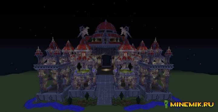 Карта Gray Gardens для minecraft PC