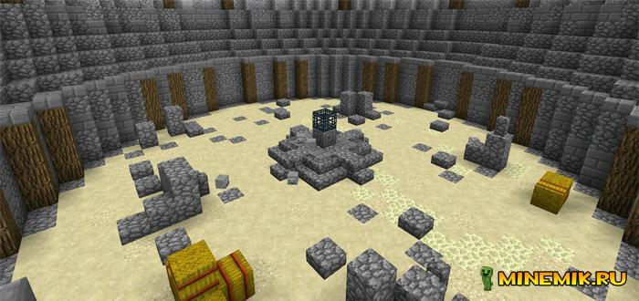 Карта Boss Arena для minecraft PE