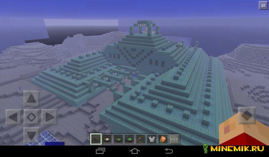 В майнкрафт 0.16.0 добавят подводную крепость