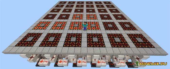 """Карта головоломка """"свет"""" для Minecraft PE"""