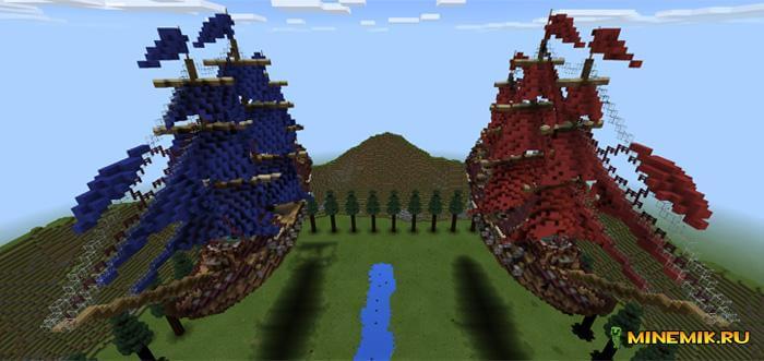 Карта ПВП для Minecraft PE