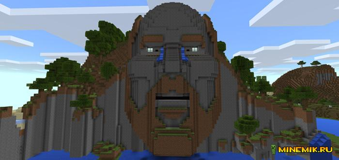 Карта храм Нотча для Minecraft PE